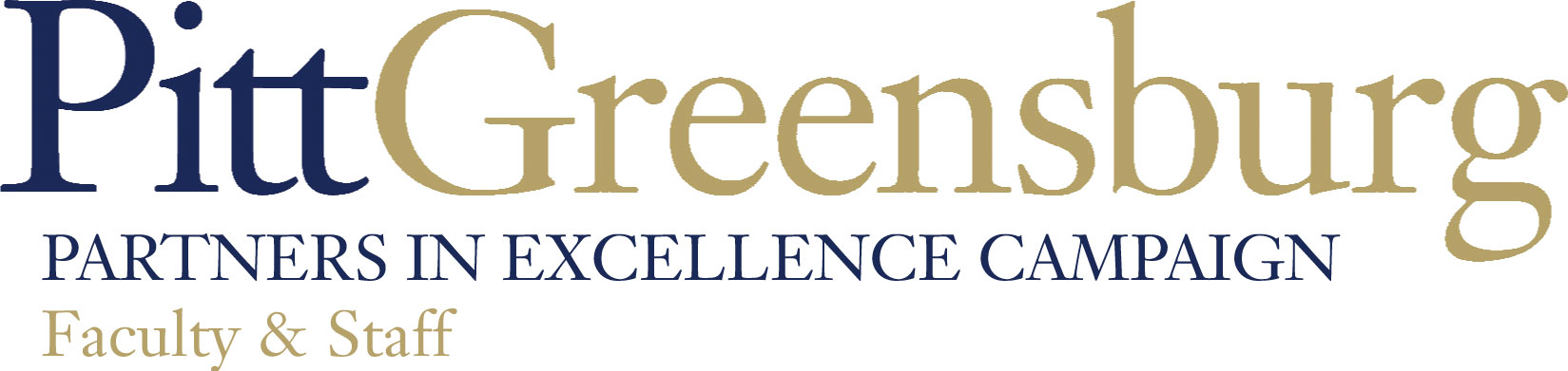 Pitt-Greensburg Partners in Excellence Faculty & Staff Campaign
