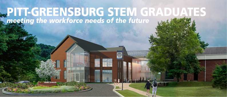 Pitt-Greensburg STEM graduates - meeting the workforce needs of the future