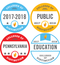 Pitt-Greensburg - selected as a College of Distinction