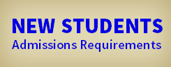 New Students - Admissions Requirements for Nursing