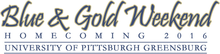 Blue & Gold Weekend 2016 logo