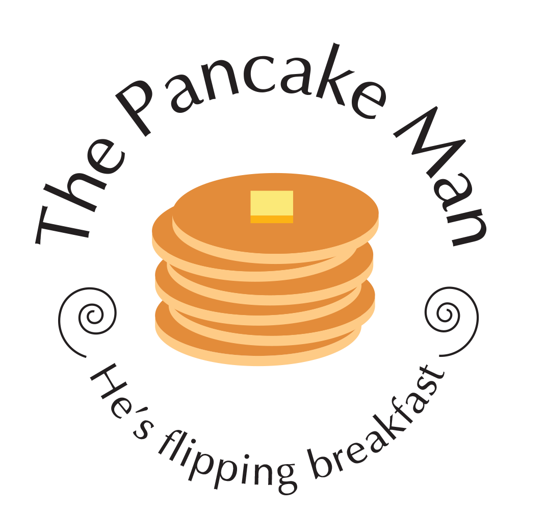 The Pancake Man logo