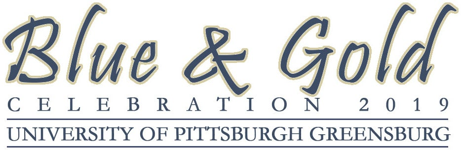 Blue and Gold Celebration 2019 logo