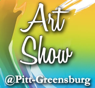 Art Show at Pitt-Greensburg logo