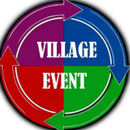 Village event logo