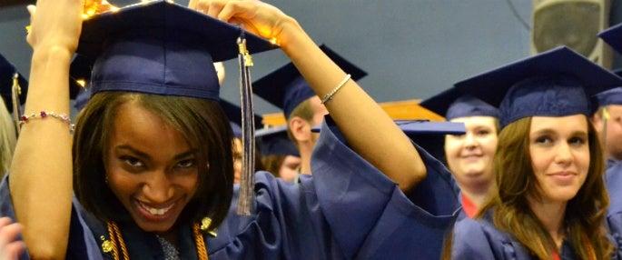 Pitt-Greensburg graduates at commencement