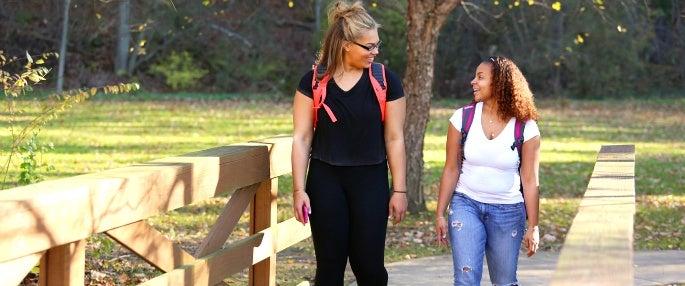 Pitt-Greensburg students talking