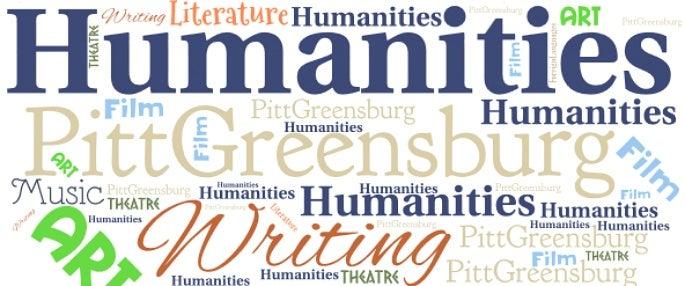 Humanities Day word cloud