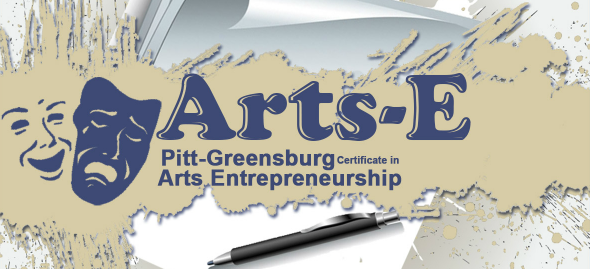 Pitt-Greensburg Arts Entrepreneurship Logo