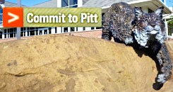 Commit to Pitt!