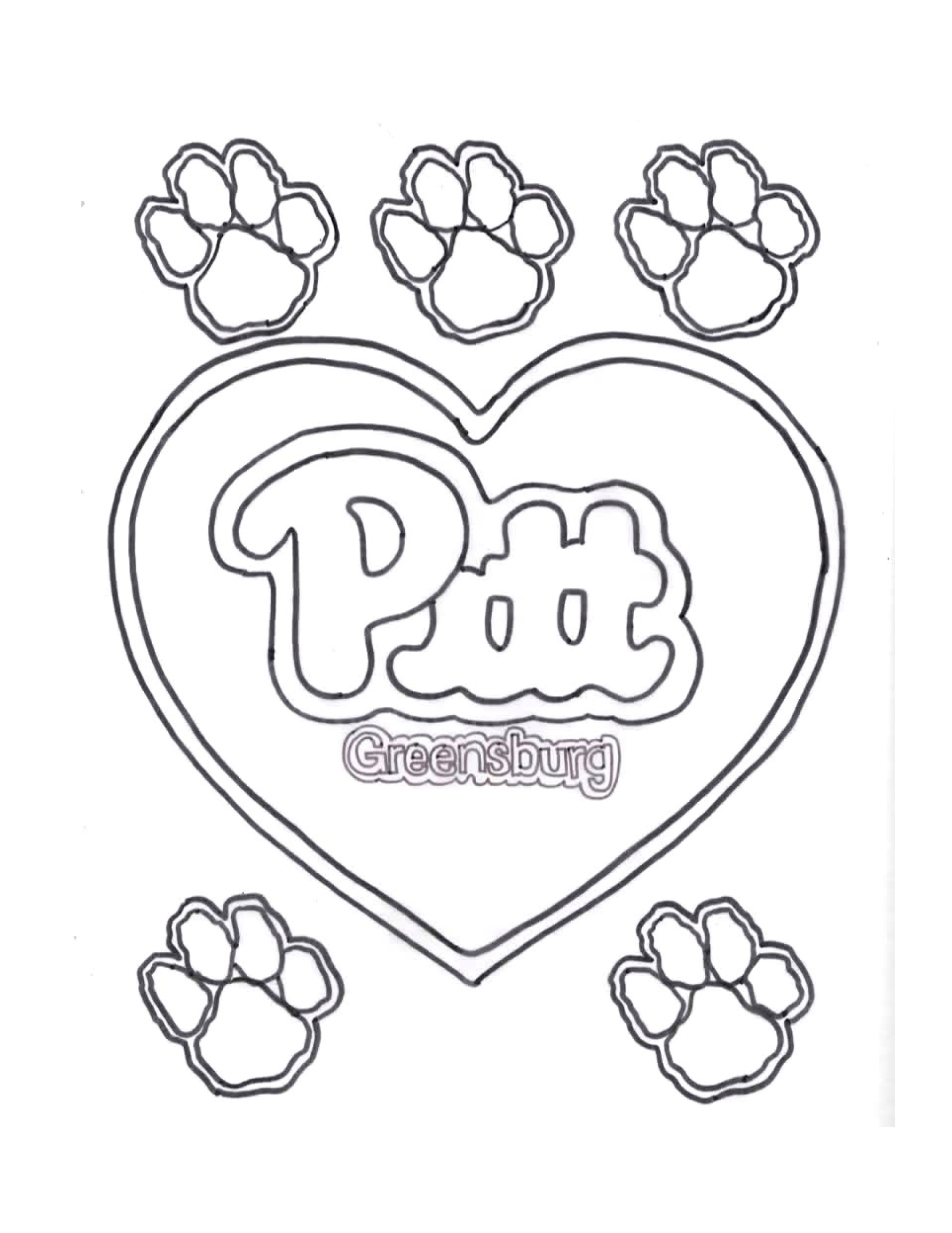 Pitt Greensburg Coloring Pages University Of Pittsburgh Greensburg University Of Pittsburgh