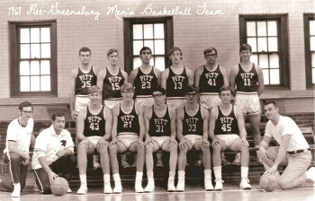 1969 Pitt-Greensburg Men's Basketball Team