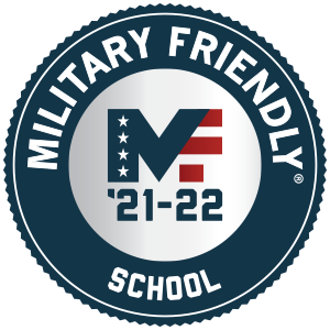 Military Friendly Schools '21-'22 logo