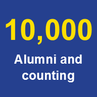 10,000 Alumni and counting