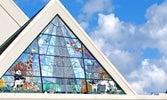 Campana Chapel stained glass window