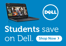 Students - save on Dell. Click to shop now